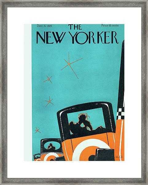 New Yorker December 5 1925 Framed Print