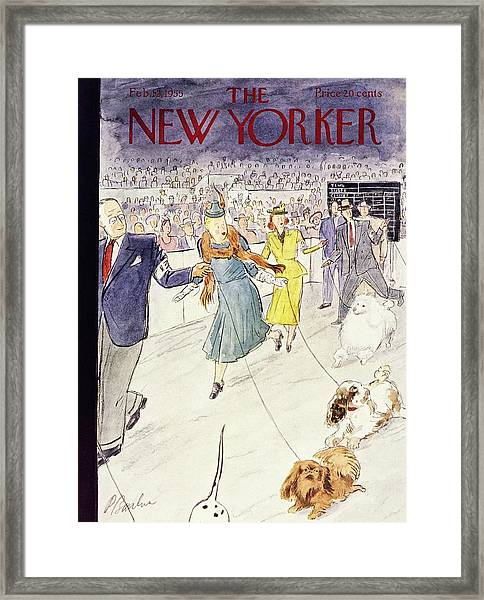 New Yorker February 12 1955 Framed Print