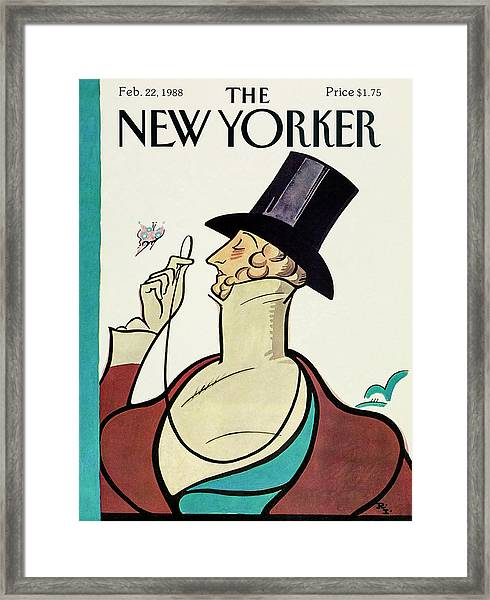 New Yorker February 22 1988 Framed Print by Rea Irvin
