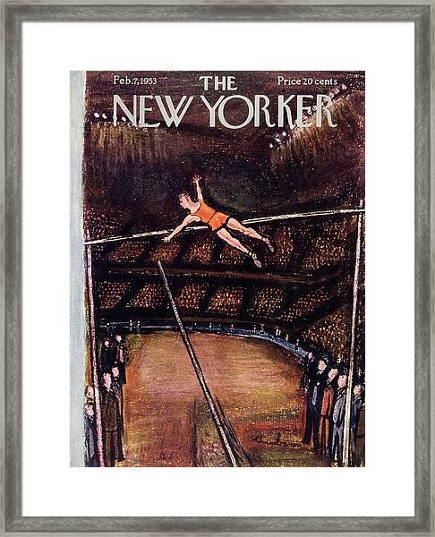 New Yorker February 7 1953 Framed Print
