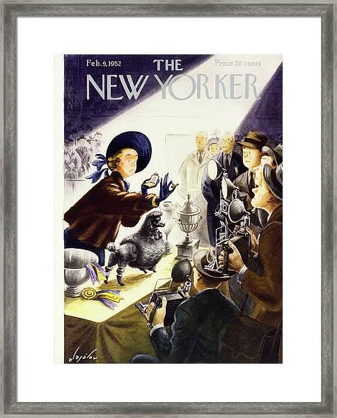 New Yorker February 9 1952 Framed Print