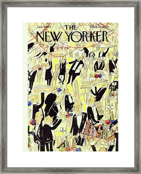New Yorker January 03 1953 Framed Print by Ludwig Bemelmans