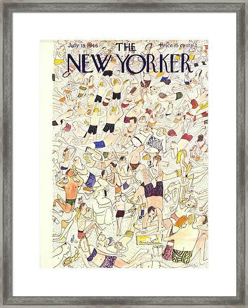 New Yorker July 13 1946 Framed Print