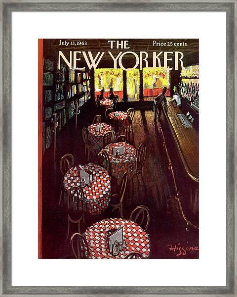 New Yorker July 13 1963 Framed Print