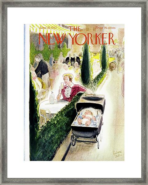 New Yorker June 26 1937 Framed Print