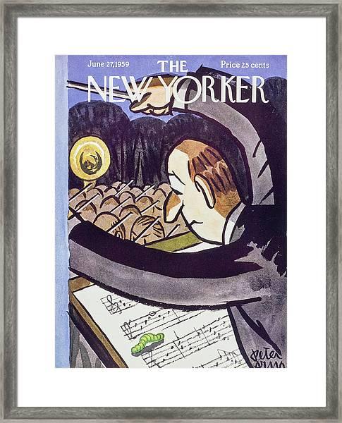 New Yorker June 27 1959 Framed Print