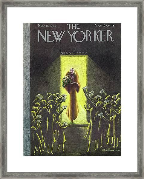 New Yorker November 11, 1944 Framed Print