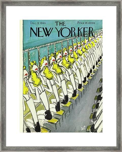 New Yorker December 9, 1944 Framed Print