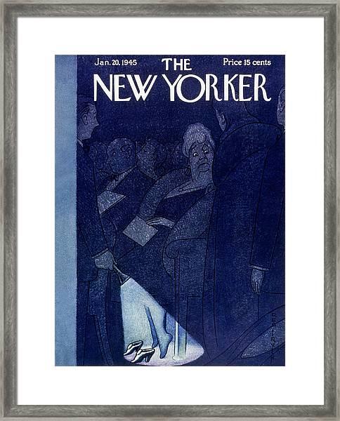 New Yorker January 20 1945 Framed Print