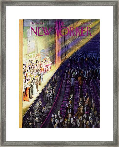 New Yorker March 10 1956 Framed Print
