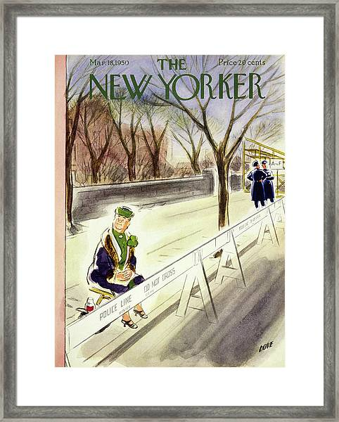 New Yorker March 18 1950 Framed Print
