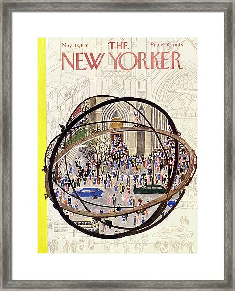 New Yorker May 12 1951 Framed Print