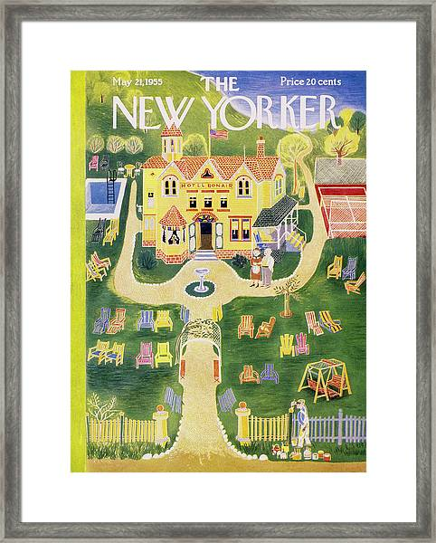 New Yorker May 21 1955 Framed Print