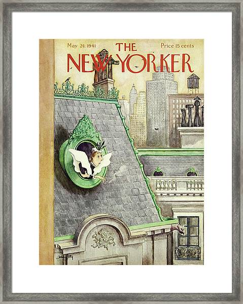 New Yorker May 24 1941 Framed Print