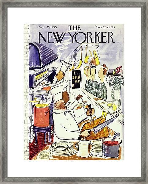 New Yorker November 25 1950 Framed Print