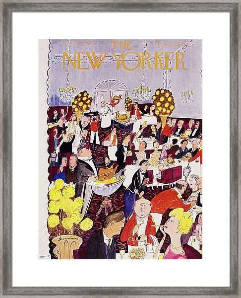 New Yorker November 26 1955 Framed Print
