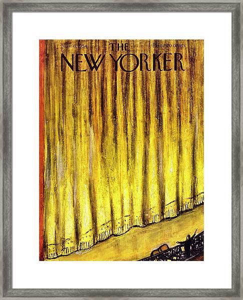 New Yorker November 6 1954 Framed Print
