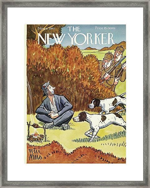 New Yorker November 8 1941 Framed Print