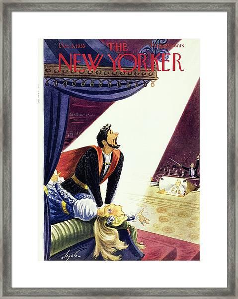 New Yorker December 5, 1953 Framed Print