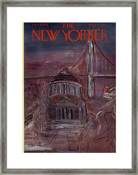 New Yorker October 3rd 1959 Framed Print by Ludwig Bemelmans