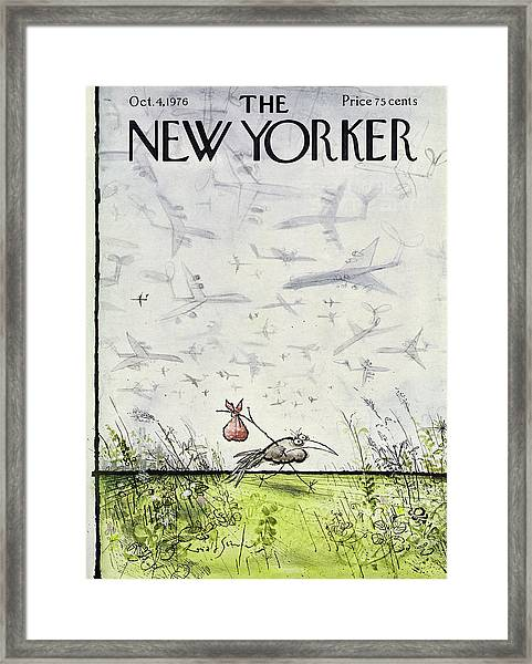 New Yorker October 4 1976 Framed Print