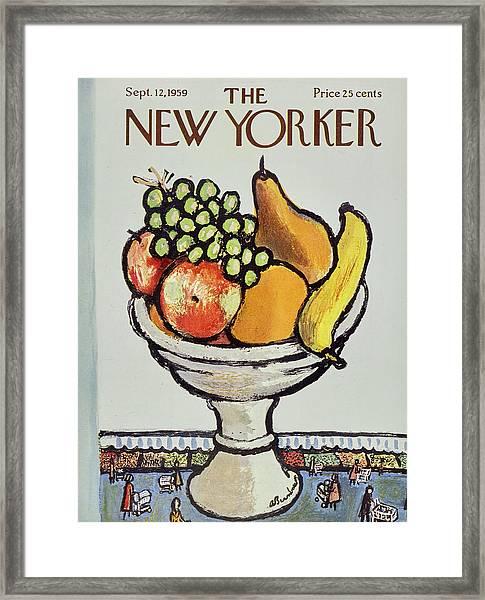 New Yorker September 12 1959 Framed Print