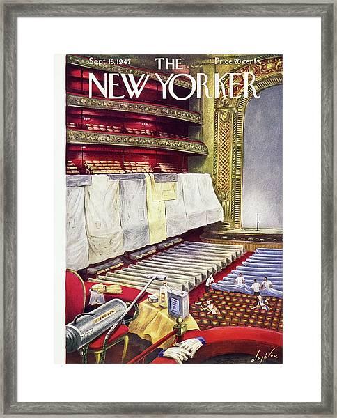 New Yorker September 13 1947  Framed Print