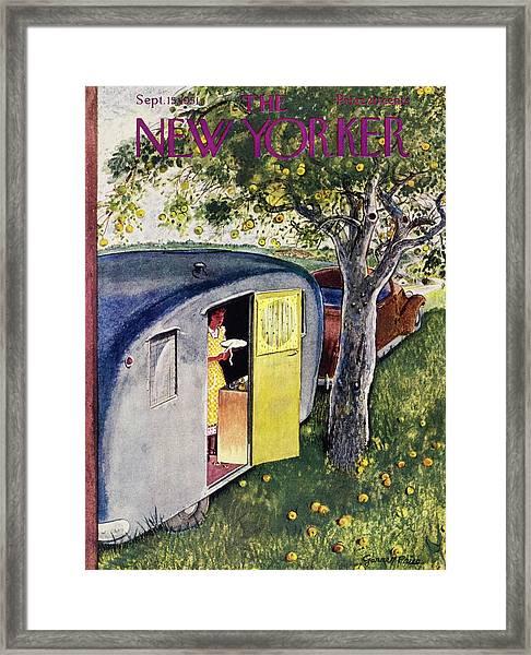New Yorker September 15 1951 Framed Print