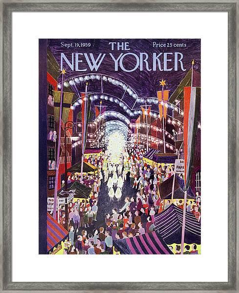 New Yorker September 19 1959 Framed Print