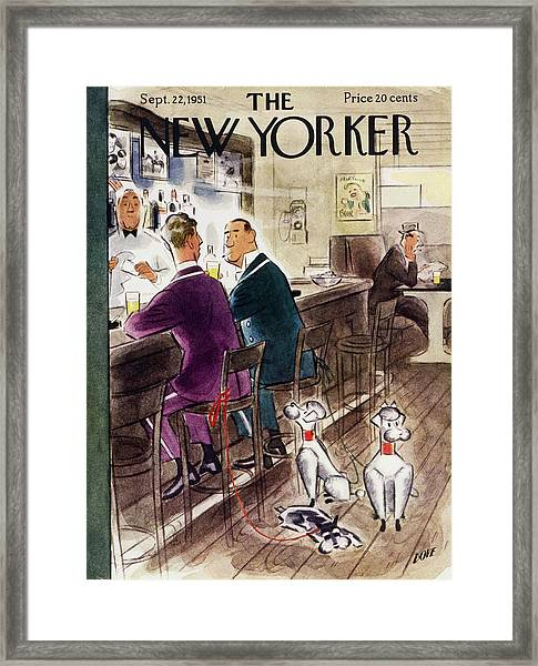 New Yorker September 22 1951 Framed Print