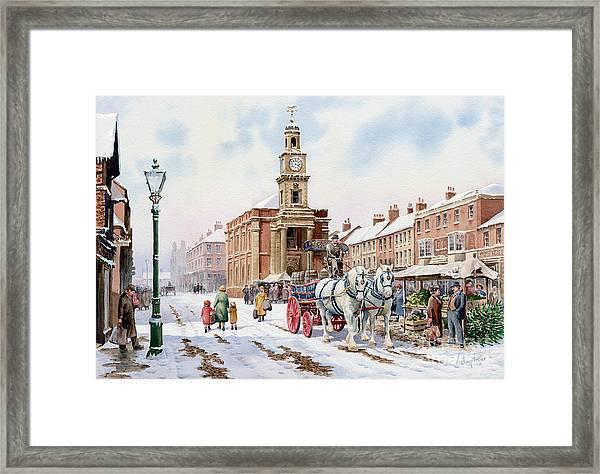 Newcastle Staffordshire Framed Print
