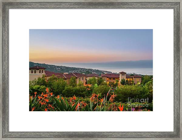Newport Morning Framed Print