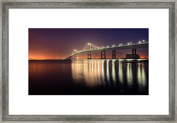 Newport Twilight Framed Print
