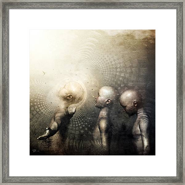 Next In Line Framed Print by Cameron Gray