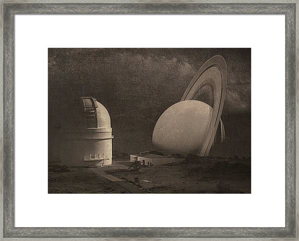 Next Universe Over Framed Print