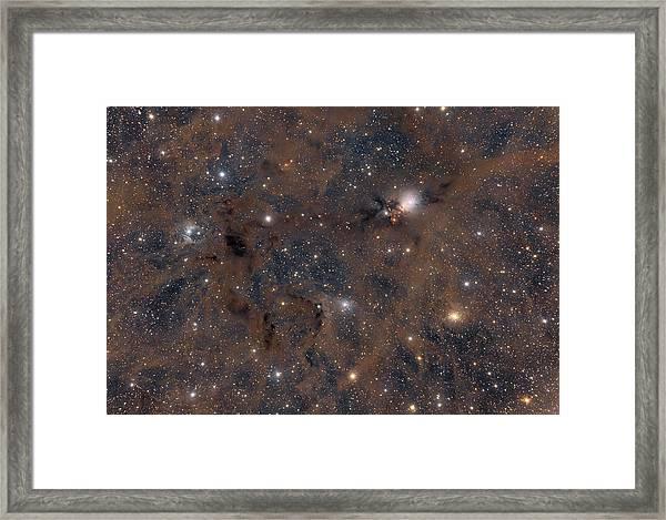 Ngc1333 Framed Print