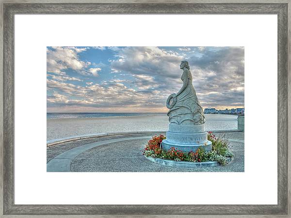 New Hampshire Marine Memorial Framed Print