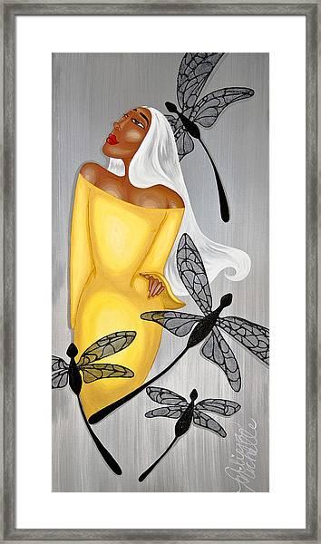NIA Framed Print