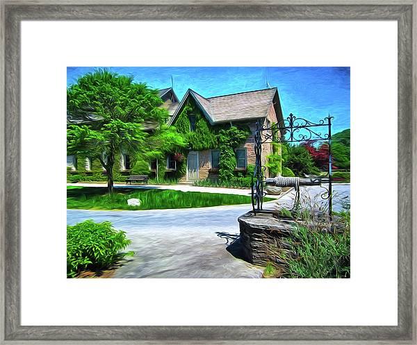 Niagara Falls Botanical Garden Y1 Framed Print