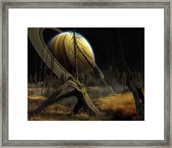 Nibiru Framed Print