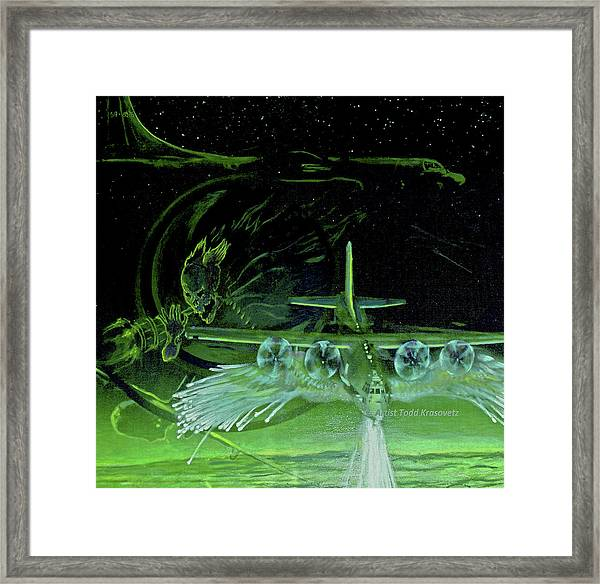 Night Angels Framed Print