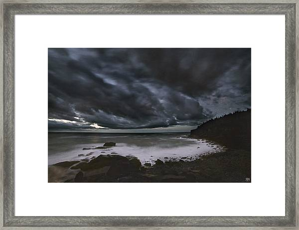 Night At Boulder Beach Framed Print