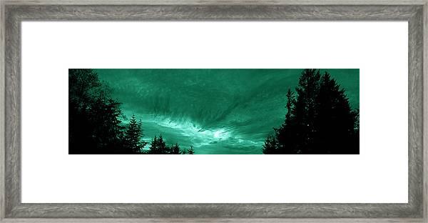 Night Clouds Framed Print