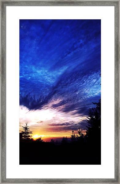 Night Clouds IIi Framed Print