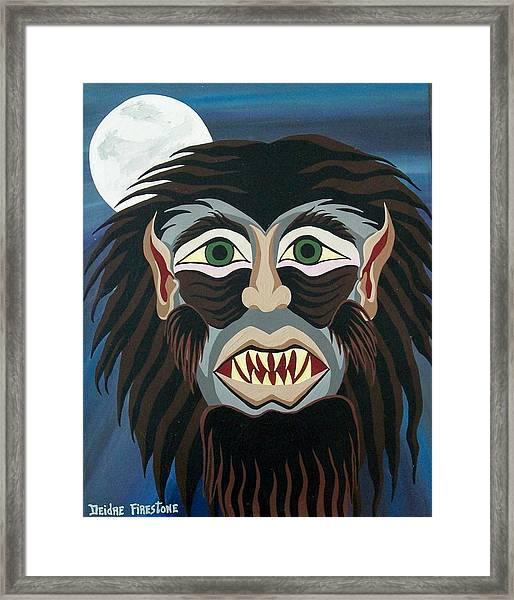 Night Cries Framed Print by Deidre Firestone
