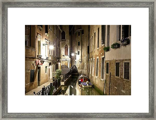 Night Da Mario Framed Print