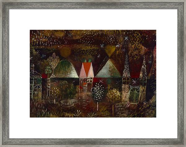 Night Feast  Framed Print