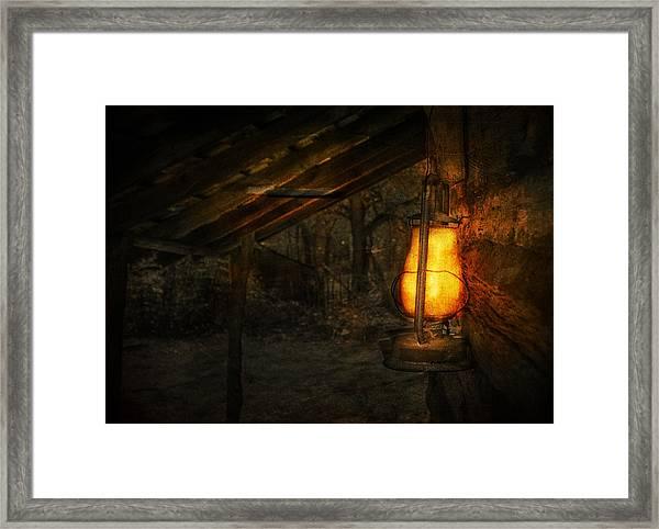Night Is Falling Framed Print