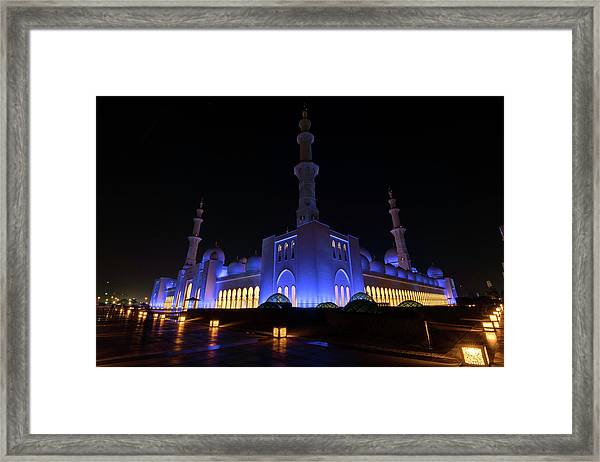Night Light Framed Print