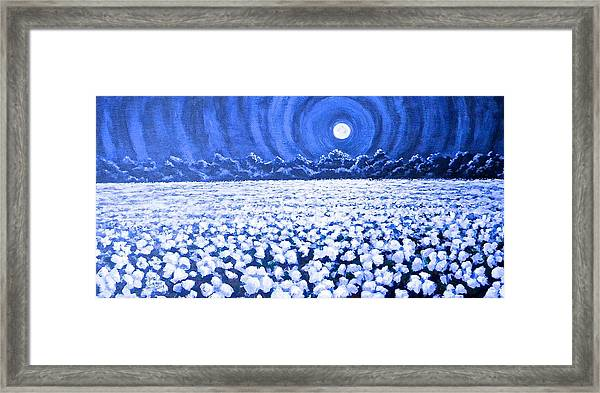 Night Light Framed Print